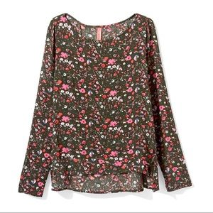 Eight-Sixty Floral Boho Top